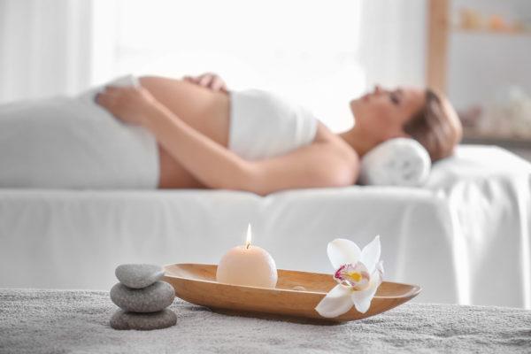 Tehotenská masáž